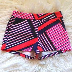 Express Abstract Shorts Size 2